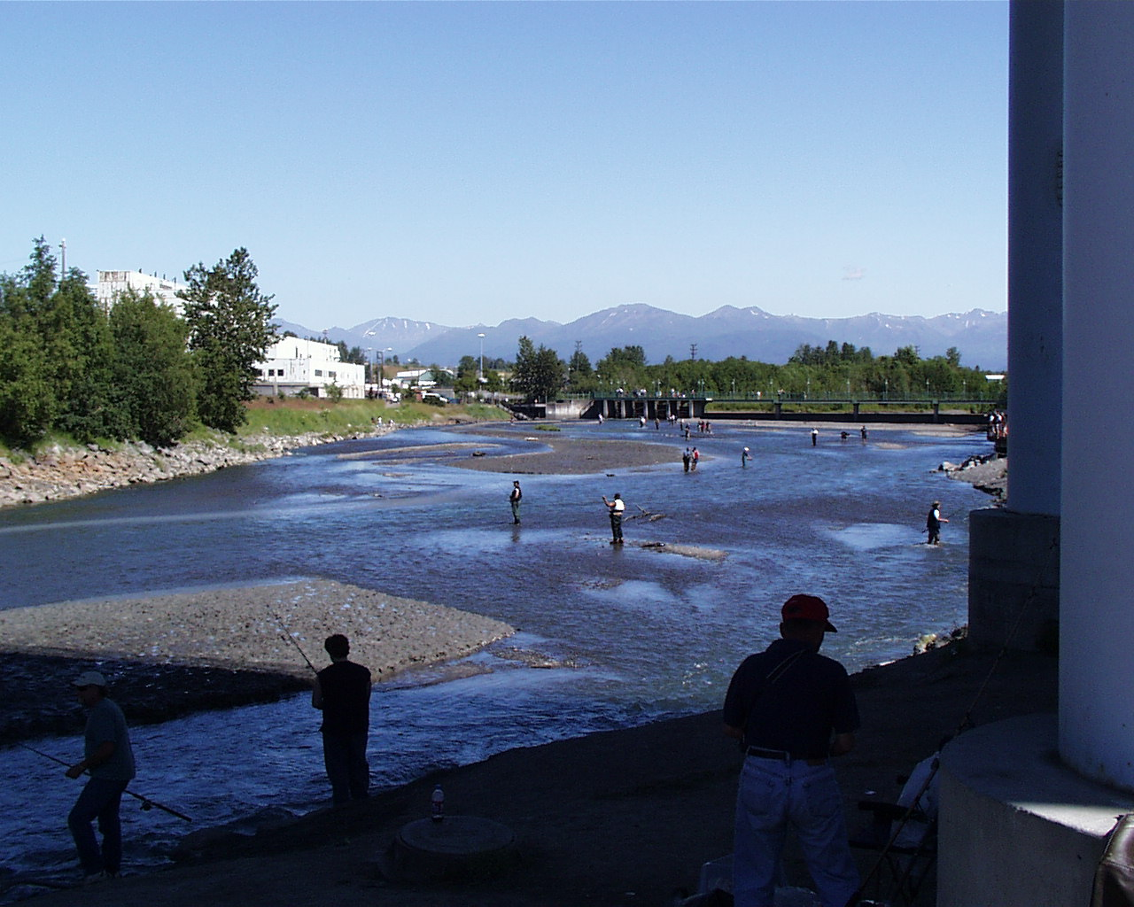 Anchorage alaska for Salmon fishing anchorage
