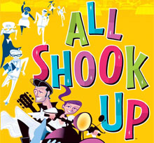 all shook up one night with you All shook up show dates sept 27-30 & oct 4-7 auditions june 23-24 1pm order tickets one night with you natalie c'mon everybody chad, natalie,.